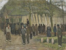 Продажа пиломатериалов (Lumber Sale), 1884 - Гог, Винсент ван