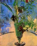 ваза с полевыми цветами (Flowers in a Vase), 1890 - Гог, Винсент ван