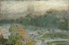 Тюильри .Этюд, 1876 - Моне, Клод