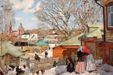 Весенний солнечный день - Юон, Константин Федорович