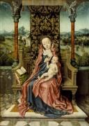 Мадонна с младенцем на престоле - Баутс, Альберт