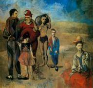 Семья путешествующих  акробатов, 1905 - Пикассо, Пабло
