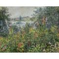 Цветы в Ветёйль, 1880 - Моне, Клод