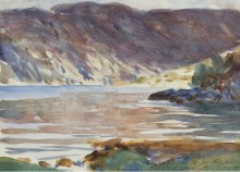 Loch Moidart, Invernesshire, 1896 - Сарджент, Джон Сингер