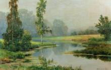 Туманное утро, 1897 - Шишкин, Иван Иванович