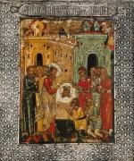 Чудо от иконы Спас Нерукотворный (ок.1600)