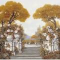 Четыре времени года. Осень на озере Маджоре - Борелли, Гвидо (20 век)