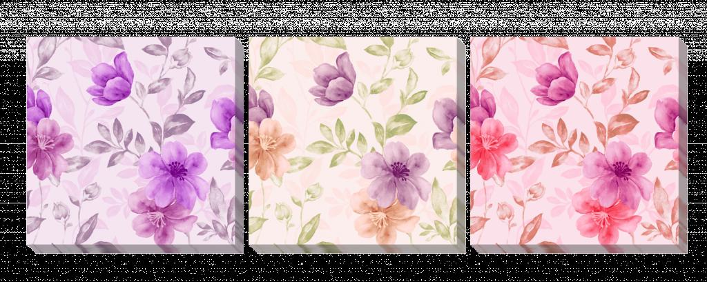 Цветы акварель