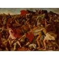 Битва израильтян с амалекитянами - Пуссен, Никола