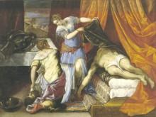 Юдифь и Олоферн, 1577 - Тинторетто (Якопо Робусти)