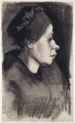 Голова женщины (Head of a Woman), 1884-85 03 - Гог, Винсент ван