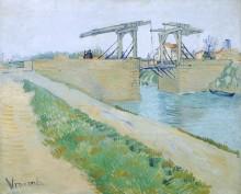 Мост Ланглуа (The Langlois Bridge), 1888 - Гог, Винсент ван