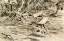 Скамейка (The Bench), 1882 - Гог, Винсент ван