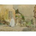 Весеннее утро, Монмартр, 1889 - Хассам, Фредерик Чайлд