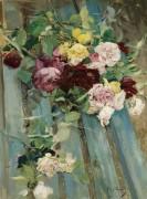 Натюрморт  с розами - Больдини, Джованни