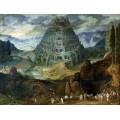 Строительство Вавилонской башни - Брейгель, Ян (Старший)