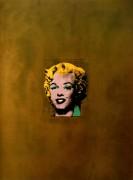 Золотая Мэрилин (Gold Marilyn), 1962 - Уорхол, Энди