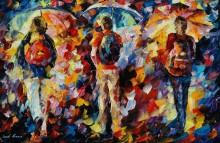 Три зонтика - Афремов, Леонид