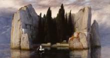 Остров мертвых, 1883 - Бёклин, Арнольд