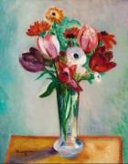Ваза с цветами - Манген, Анри