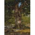 Бодмер дуб, лес Фонтенбло , 1865 - Моне, Клод