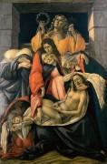 Оплакивание Христа - Боттичелли, Сандро