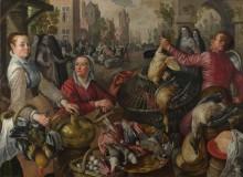 Четыре стихии, воздух - блудный сын на птичьем рынке - Бейкелар, Йоахим