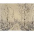 Дорога (Driveway), 1872-73 - Гог, Винсент ван