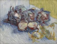 Натюрморт с красной капустой и луком (Still Life with Red Cabbage and Onions), 1887-88 - Гог, Винсент ван