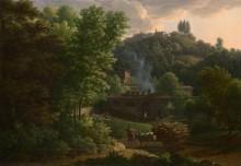 Итальянский пейзаж - Фабр, Франсуа-Ксавье