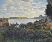 Сена в Аржантее, 1877 - Моне, Клод