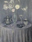 Стол, гармония в сером, 1927 - Сиданэ, Анри Эжен Огюстен Ле
