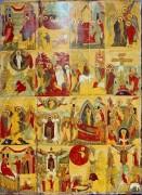 Страсти Христовы, Новгородская школа, 15 век, 95х71см
