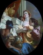 Римская матрона делает подношение Юноне - Тьеполо, Джованни Баттиста