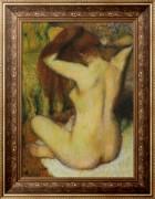 Причесывающаяся женщина, 1888-1890 - Дега, Эдгар