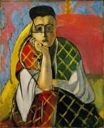 Женщина в пледе - Матисс, Анри