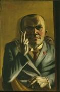 Автопортрет с сигаретой - Бекман, Макс