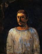 Автопортрет, 1896 - Гоген, Поль