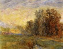 Край леса в Остенде, 1886 - Энсор, Джеймс