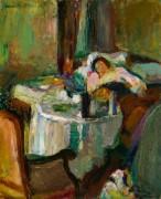 Спящая женщина - Матисс, Анри