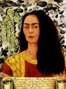 Автопортрет с распущенными волосами - Кало, Фрида