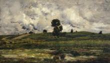 Пейзаж с прудом - Добиньи, Шарль-Франсуа