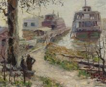 Причал (Moorings), 1906-12 - Кун, Уолт