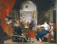 Ткачихи, 1657 - Веласкес, Диего