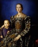 Портрет Элеоноры Толедо с сыном Джованни - Бронзино, Аньоло