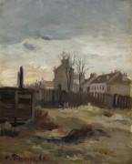 Бьют-Монмартр, 1861 - Писсарро, Камиль