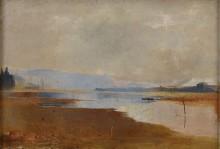 Речной пейзаж, 1888 -  Кондер, Чарльз