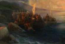 Высадка Колумба в Америке 12 октября 1492 года - Айвазовский, Иван Константинович