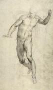 Эскиз для Страшного суда - Микеланджело Буонарроти