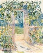 Ворота в сад, Ветёй - Моне, Клод